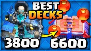BEST DECKS for Mid Ladder in Clash Royale!