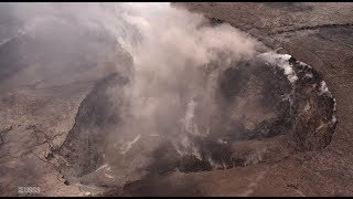 Kilauea Crater Collapses, Covers Conduit, Explosive Eruption Imminent? (627)