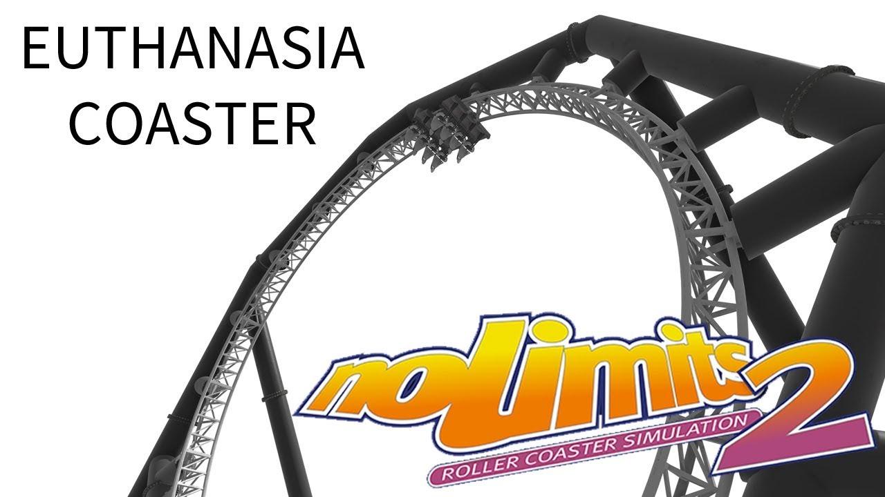 The Euthanasia Loop Death Coaster Concept NoLimits 2 60fps