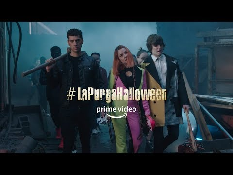 #LaPurgaHalloween   Amazon Prime Video