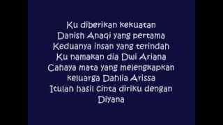 salam semua sleeq ft aaron aziz (lirik)