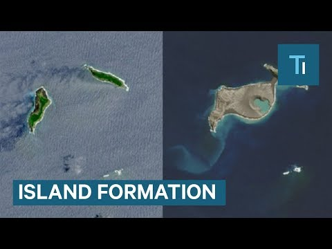 NASA Satellites Captured The Formation Of New Island