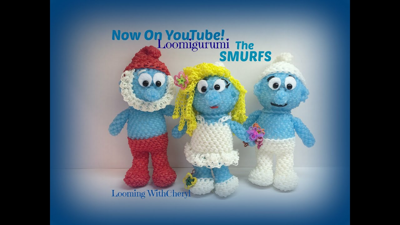 Rainbow loom smurfette smurf part 2 of 2 loomigurumi amigurumi rainbow loom smurfette smurf part 2 of 2 loomigurumi amigurumi hook only youtube bankloansurffo Image collections