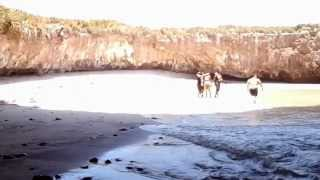 Скрытый пляж. Мексика(Наша планета полна уникальными и безумно красивыми местами, примером тому скрытый пляж на островах Marieta,..., 2012-09-25T16:20:30.000Z)