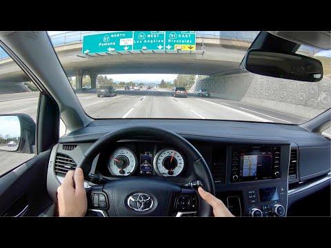 2020 Toyota Sienna SE Premium POV Drive (3D Audio)
