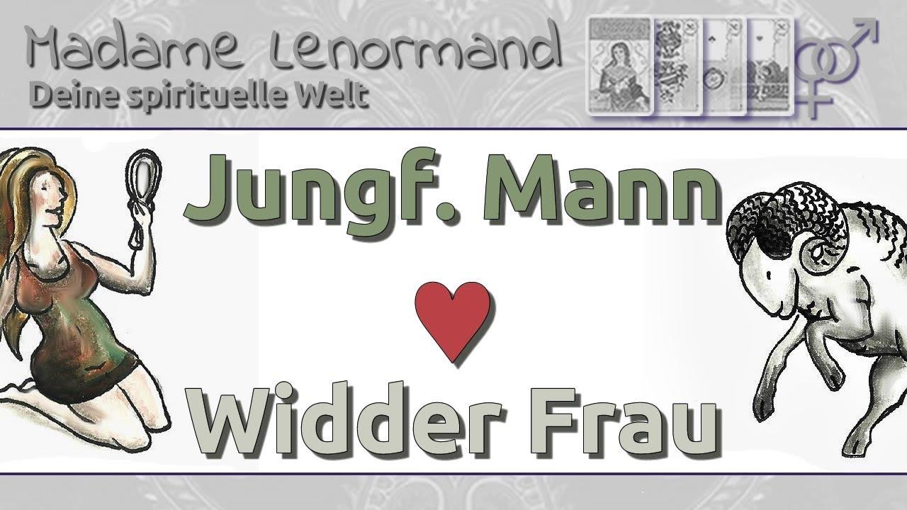 Jungfrau Mann Und Widder Frau