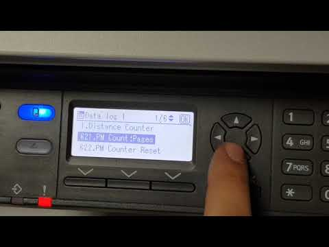 RICOH MP 2014 Reset PCUD And Fusing Unit