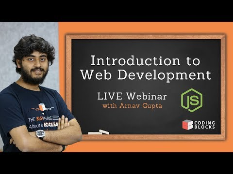 Introduction To Web Development LIVE Webinar