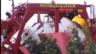 NATALIA-V - całorzędowy kombajn do zbioru malin jesiennych (raspberry harvester)