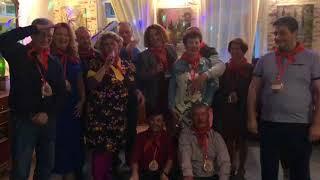 Встреча выпускников в Зеленограде. Ведущая Светлана.