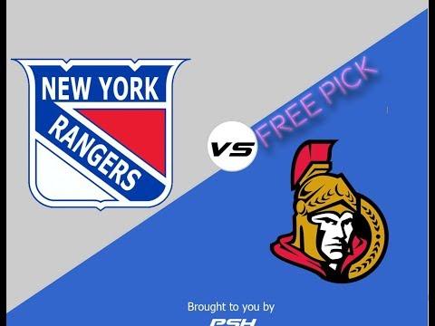 New York Rangers vs Ottawa Senators NHL Hockey Free/Pick Prediction 12/13/2017