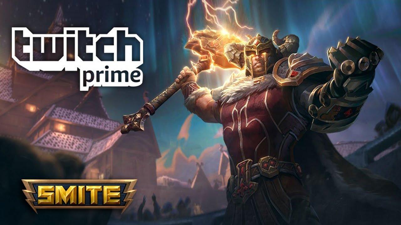 SMITE - Gladiator Bundle - Free with Twitch Prime!