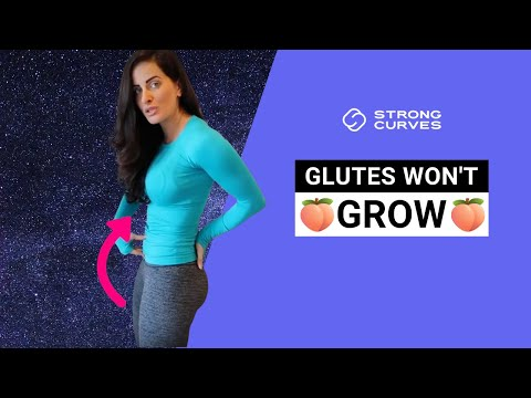 WHY YOUR GLUTES WON'T GROW (3 ways to fix it!)