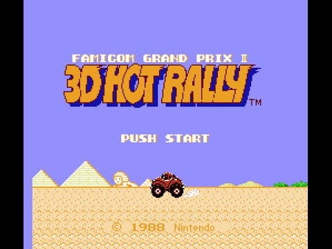 NES Longplay [347] Famicom Grand Prix II: 3D Hot Rally