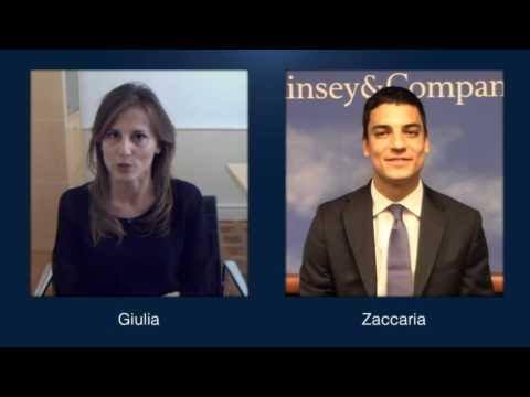 McKinsey Italy: two business analysts share their McKinsey experiences