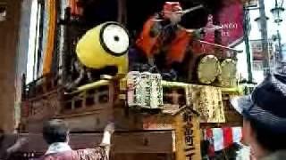 川越の祭り.