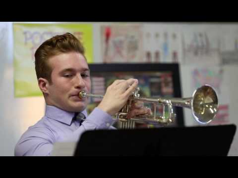 Jack on Trumpet @ Solo and Ensemble, 2017-03-04