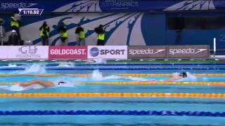 Katie Ledecky 400m Freestyle 35837 WORLD RECORD Pan Pacs 2014