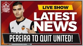 Andreas PEREIRA To Quit MANCHESTER UNITED! MAN UTD News