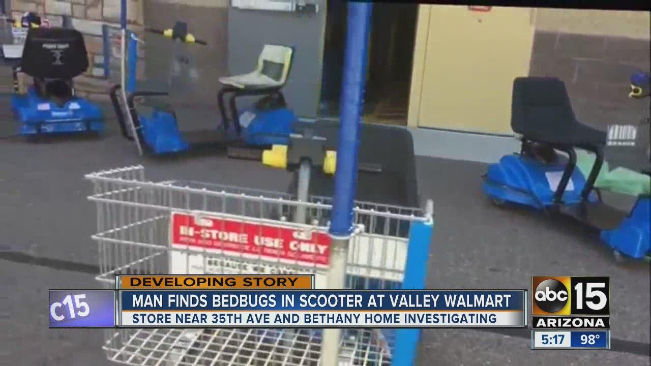 Customer Reports Bed Bugs At Phoenix Walmart Store Youtube