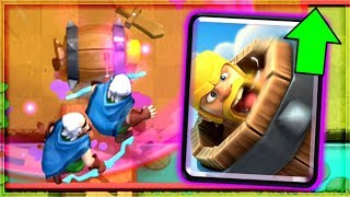 Clash Royale - THIS BARB BARREL DECK DOMINATES!