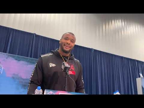 Alabama DT Raekwon Davis Interview At 2020 NFL Combine