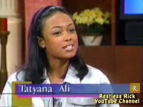 Fresh Prince of Bel-Air Star Tatyana Ali 1998 Interview & Performance