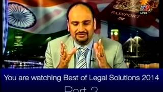 Harjap Bhangal Legal Solutions Best Clips 2014 Part 2 Full Show 20150102 1859   MATV National 00