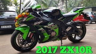 2017 Kawasaki Ninja ZX10R Unboxing  Delivery  Welcome Home New Beast