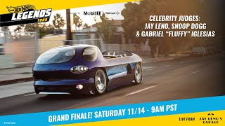 homepage tile video photo for Hot Wheels Legends Tour - THE FINALE! - Hosted by Jay Leno, Snoop Dogg and more...