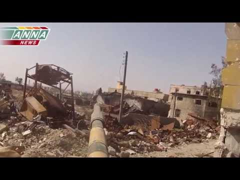 "ᴴᴰ Syria army operations 18+ ** **""Jobar, Precision work on Militant Positions"""