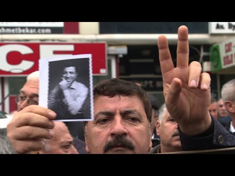 Jailed pro-Kurdish leader appears in court for first time