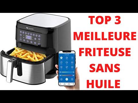 TOP 3 : MEILLEURE FRITEUSE SANS HUILE GRANDE CAPACITE 2020