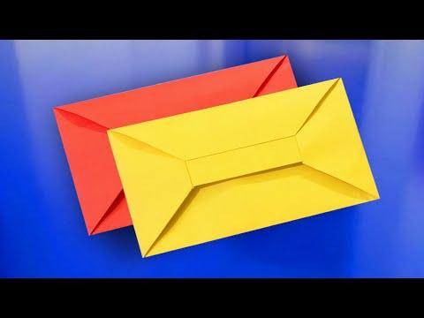 How To Make A Paper Envelope   Cách Gấp Phong Bì Thư Đẹp, Đơn Giản