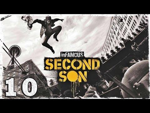 Смотреть прохождение игры [PS4] InFamous: Second Son. #10: Ангелы.