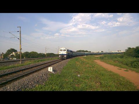17211 Kondaveedu Express ... Arriving Vijayawada ... Super Fast Express ...