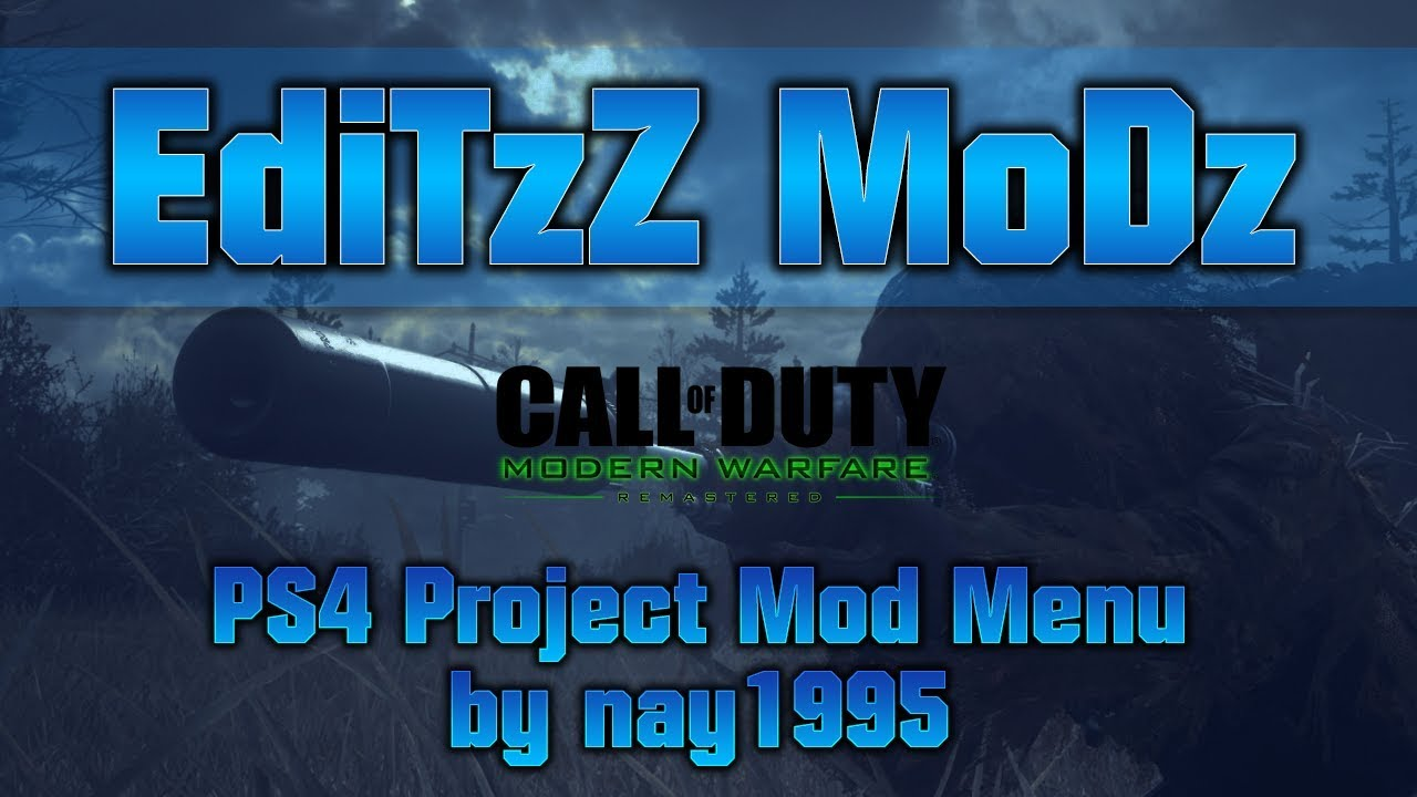 [PS4] MWR Mod Menu by nay1995 (Free Download)