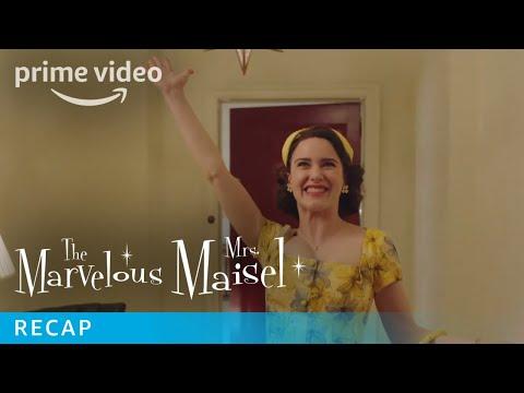Official The Marvelous Mrs. Maisel Season Recap   Prime Video