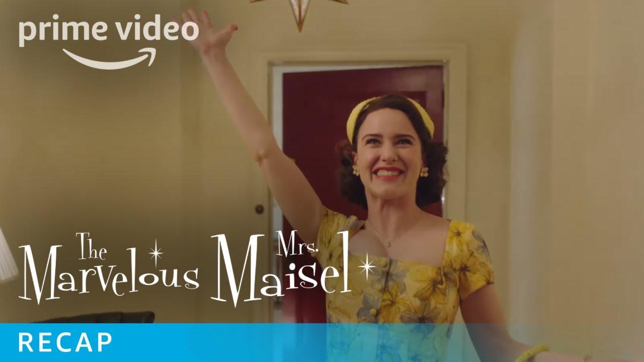 Download The Marvelous Mrs Maisel   Season 2 Recap   Prime Video