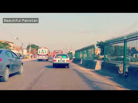 Peshawar to Nowshera Road trip timelapse