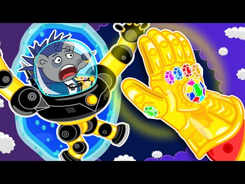 Lion Family Official Channel 🤖 Iron Robot #10. Gauntlet Of Power | Cartoon For Kids