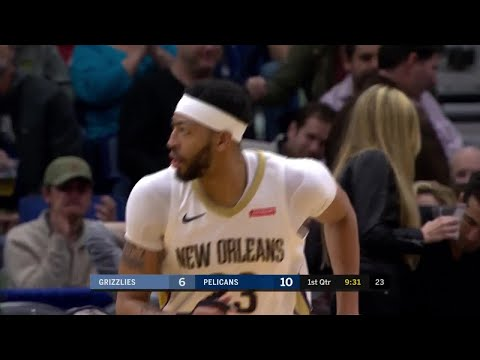 1st Quarter, One Box Video: New Orleans Pelicans vs. Memphis Grizzlies