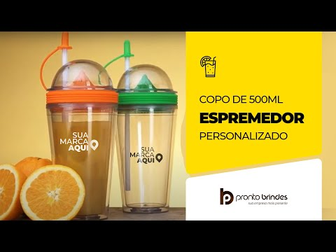 PRONTO BRINDES - COPO ESPREMEDOR - CO8100-005