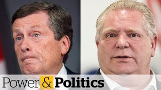 John Tory slams Doug Ford over spending cuts | Power & Politics
