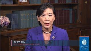 Congresswoman Judy Chu's remarks for Jalsa Salana USA 2018