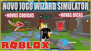 NEW GAME ALL CODIGOS and NEW TIPS FROM Wizard Simulator-ROBLOX
