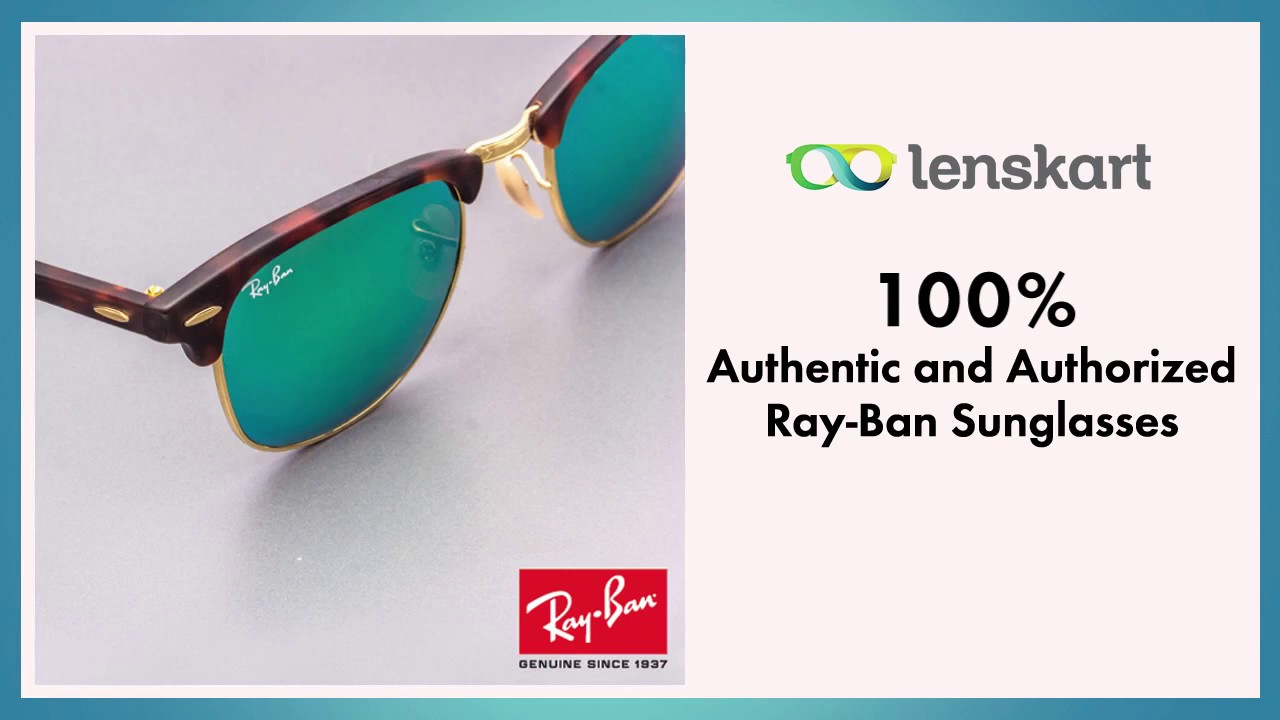 a4577e70b55 LensKart- Ray-Ban Sunglasses - YouTube