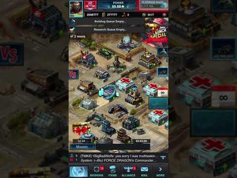 Mobile Strike Zeroed A 600B Power Base