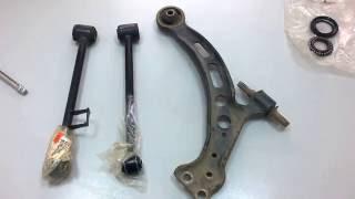 Особливості підвіски Toyota Harrier/Lexus RX300: коли і чому виникають шуми