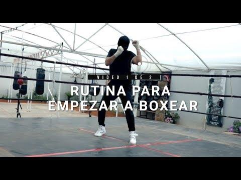 Rutina para empezar a boxear (Parte 1 de 2)